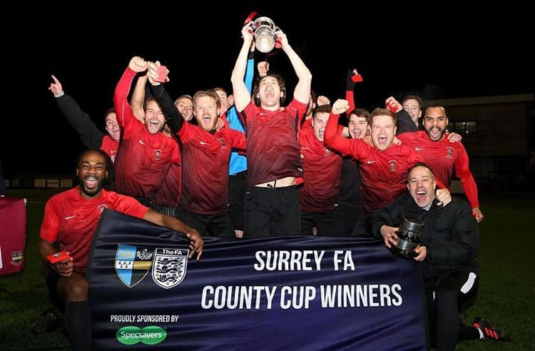 Royal Holloway Old Boys – Surrey Intermediate County Cup Winners!