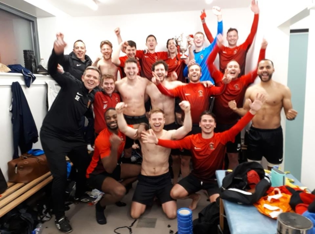 Changing Room County Cup Celebrations 2019